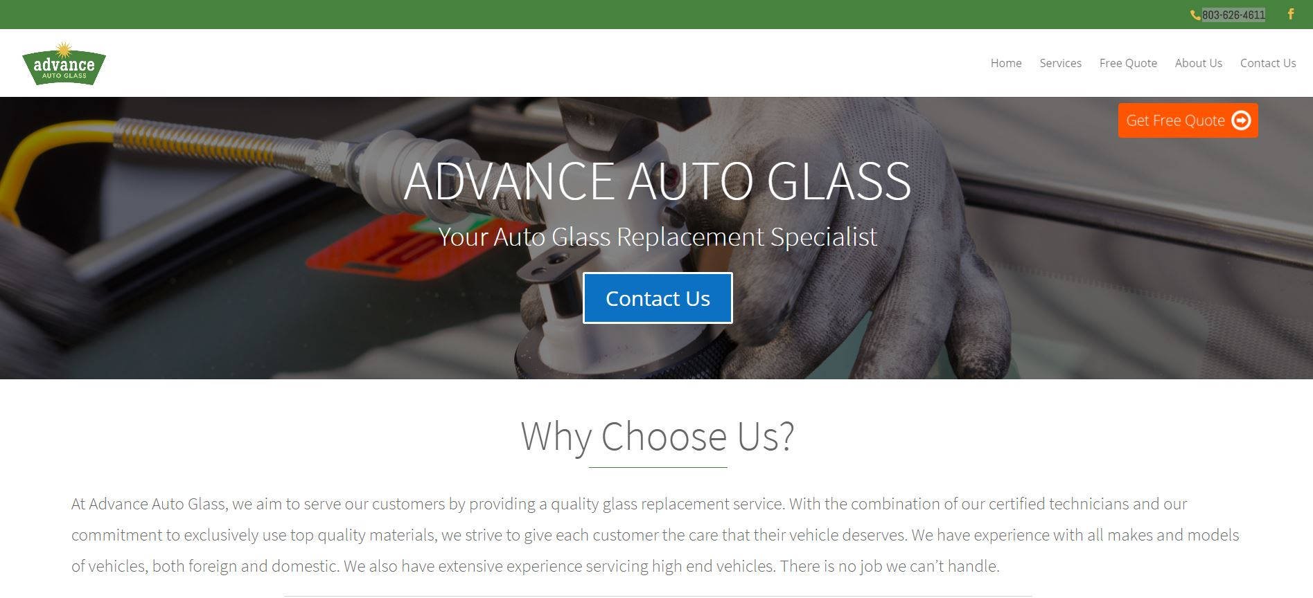 Auto Glass Quote Auto Glass Replacement & Repair  Advance Auto Glass